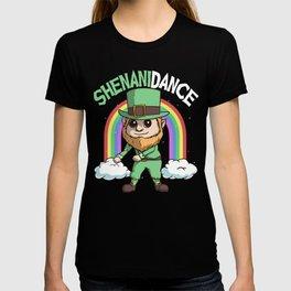 Leprechaun Dance Shenanidance Rainbow St Patricks Day T-shirt
