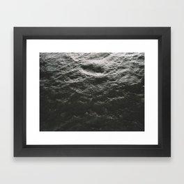 Water Texture Framed Art Print
