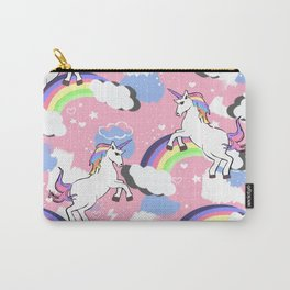 Rainbow Unicorn Love - Part 2 Carry-All Pouch