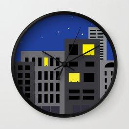 Night Cats Wall Clock