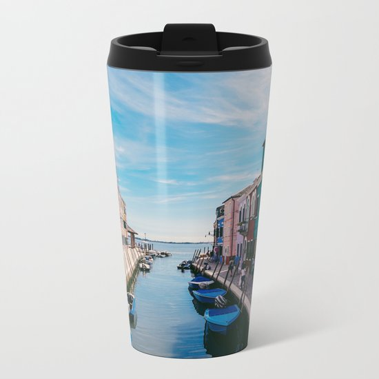 Color House Metal Travel Mug