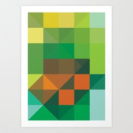 Minimal/Maximal 4 Art Print