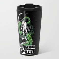 Horror In Deep Space Travel Mug