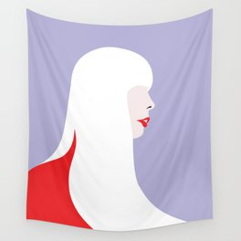 Joni Mitchell (red) Wall Tapestry