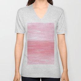 Pink Tranquility Unisex V-Neck