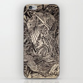 Diffracted (Cavern Dweller) iPhone Skin