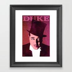 Duke Ellington Framed Art Print