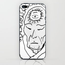 Deep Star Man iPhone Skin