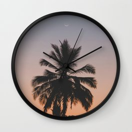 Rising Moon Wall Clock