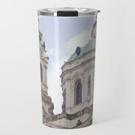Church in Prague Travel Mug