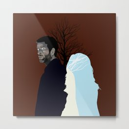 Always By Your Side Metal Print
