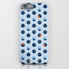 Blue Cubes Slim Case iPhone 6s