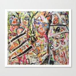 Les Demoiselles d'Bushwick Canvas Print