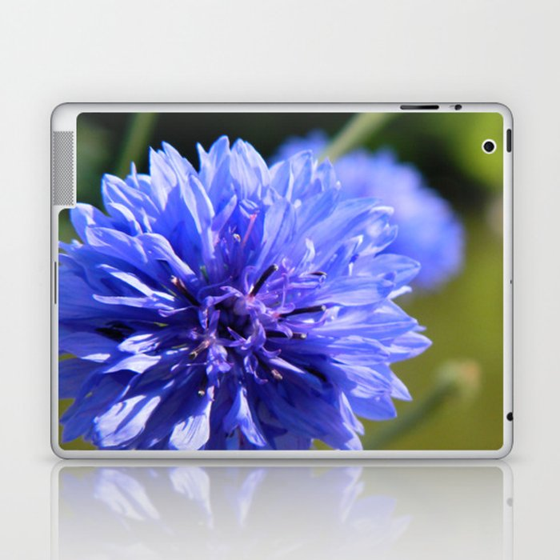Cornflower blue Laptop & iPad Skin