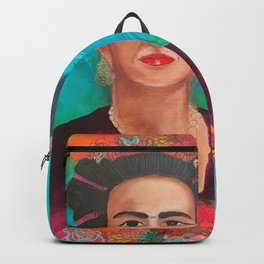 Frida Fragil y fuerte Backpack