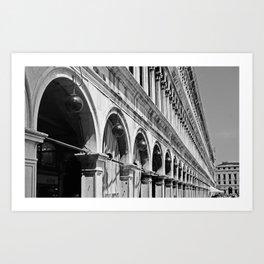 Venetian Perspective Art Print