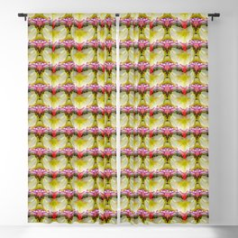 Modern abstract artistic multicolor surface 583 Blackout Curtain