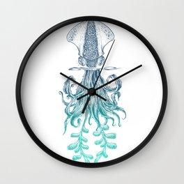 Agave Calamaris Wall Clock