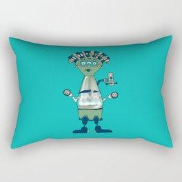 Robot № 204 Rectangular Pillow