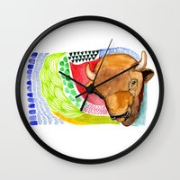 buffalo Wall Clocks featuring BUFFALO by dorc