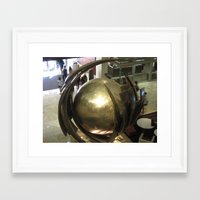 globe Framed Art Prints featuring Globe by Kammy Nature Prints