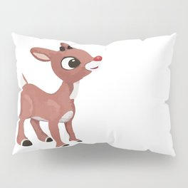 Classic Rudolph Pillow Sham