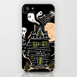 Haunted Tea House iPhone Case