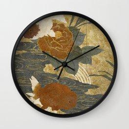 Ranchu Wall Clock