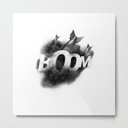 ONMTP - BIG BOOM Metal Print
