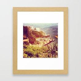 Piattaforma Framed Art Print
