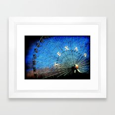 Texas Framed Art Print