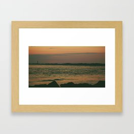Cape May, NJ Framed Art Print
