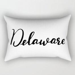 Delaware (DE; Del.) Rectangular Pillow
