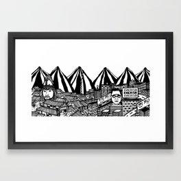 Korea Framed Art Print