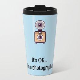 I'm a photographer Travel Mug