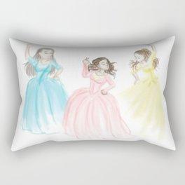Sisters at Work Rectangular Pillow