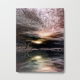 Alter Baum Metal Print