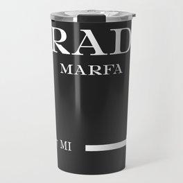 Marfa Mileage Distance Travel Mug