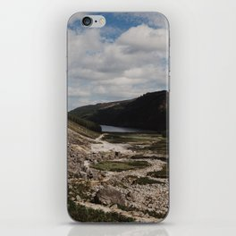 Hiking the Wicklow Mountains iPhone Skin