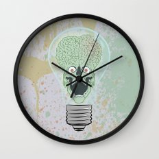 Think Martian  Wall Clock