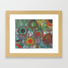 Mexican Flare Framed Art Print