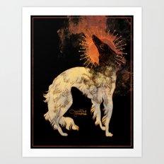 Fiery Beacon Art Print