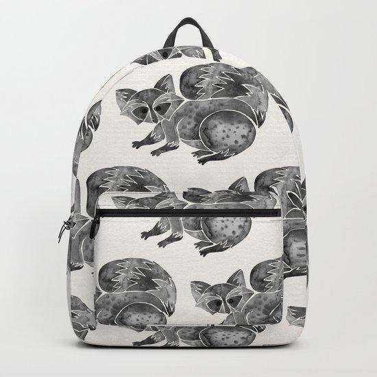 Raccoon – Warm Grey Palette Backpack