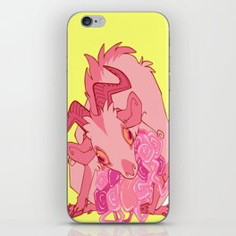 Gut Wretched Goat - Pink iPhone Skin