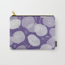 Ultra Violet Floral Abstract. Pantone Color of the Year 2018 Carry-All Pouch