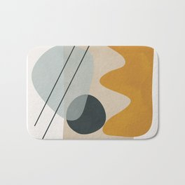 Abstract Shapes No.27 Bath Mat