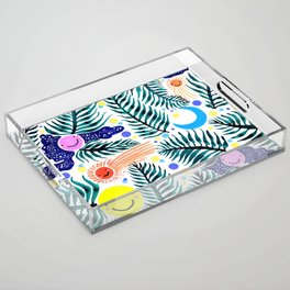 Night Flight  Acrylic Tray