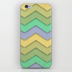 Spring day Chevron iPhone & iPod Skin