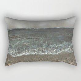 Storm's a comin' Rectangular Pillow