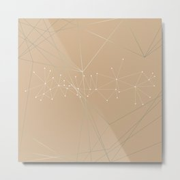 LIGHT LINES ENSEMBLE VIII Metal Print